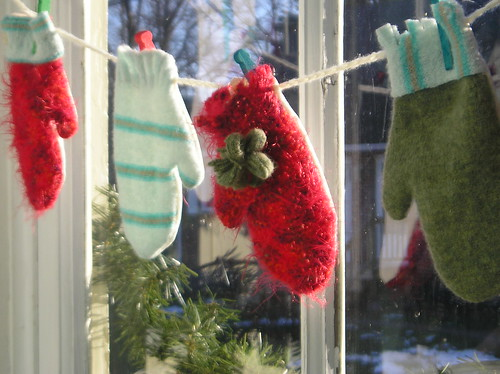 mittens in window 3 | by *Yellow House*