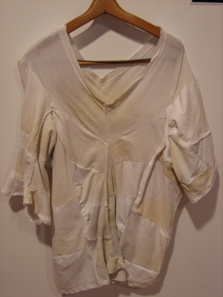 Sweat stain shirt eww by matt fargo tikva morowati for Removing sweat stains from white shirts