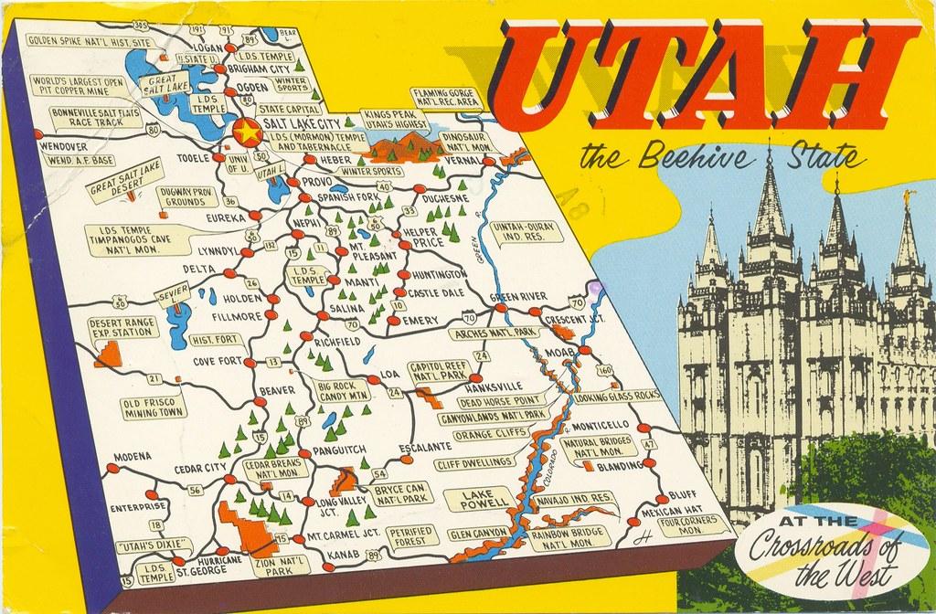 Utah Beehive State | 1984. | Carl Johnson | Flickr