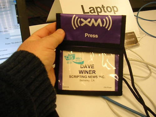 How I got my press badge for CES | by scriptingnews