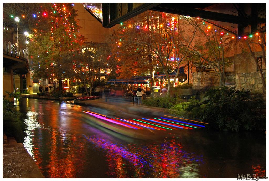 San Antonio By Night Paseo Del Rio San Antonio By