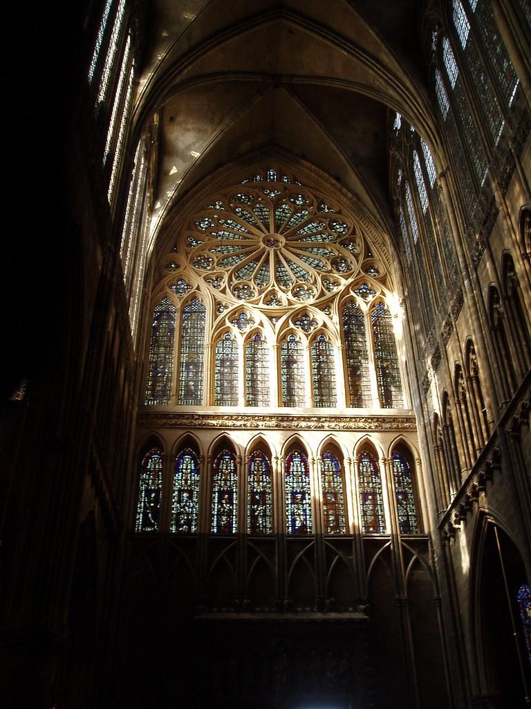 Cathedral Saint Etienne Caen France St Etienne Was