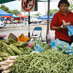 Selling Vegetable lady!
