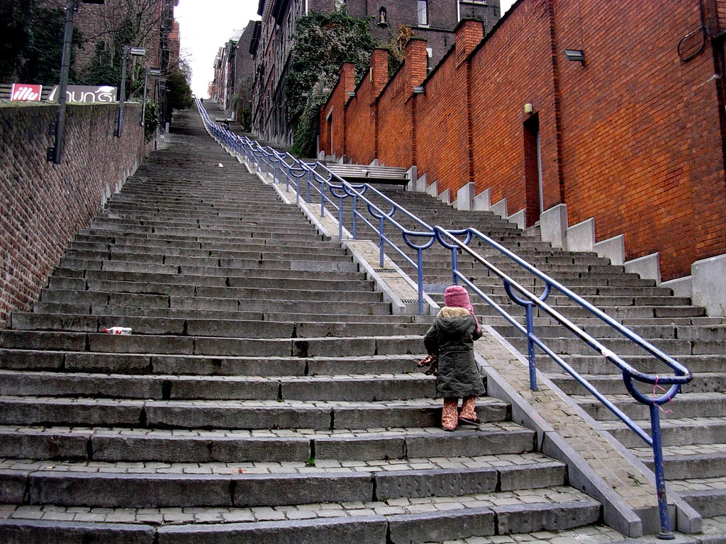 les escaliers de buren monter li 232 ge sera grandie flickr