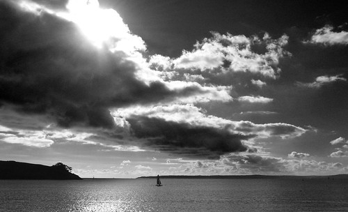 View from St.Mawes (b+w) | by Nigel Dourley