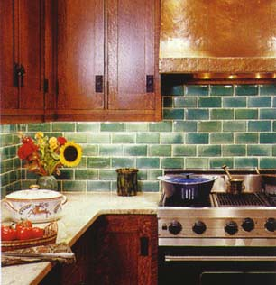 green subway tile backsplash sladkusj flickr
