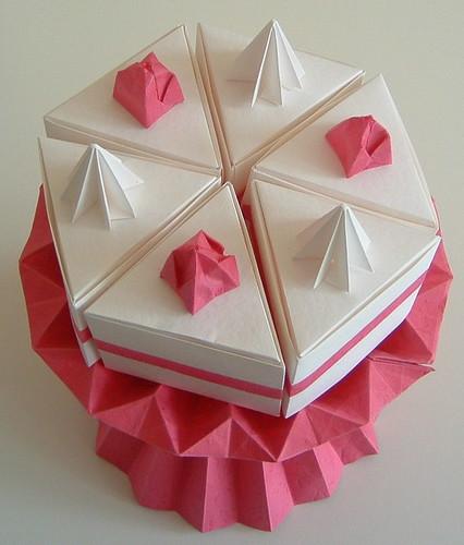 origami cake flickr photo sharing