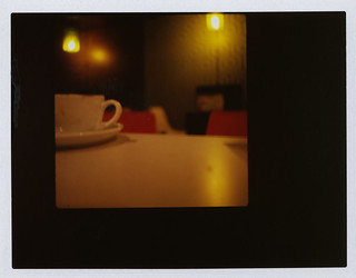 polaroid coffee tinderbox blurred | by gorbot.