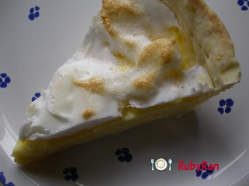 Lemon meringue pie. | by Rubyran