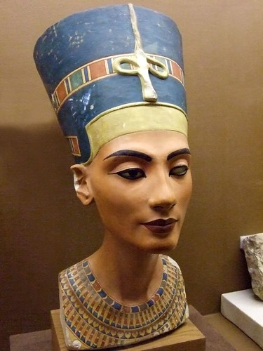 Replica of the bust of...