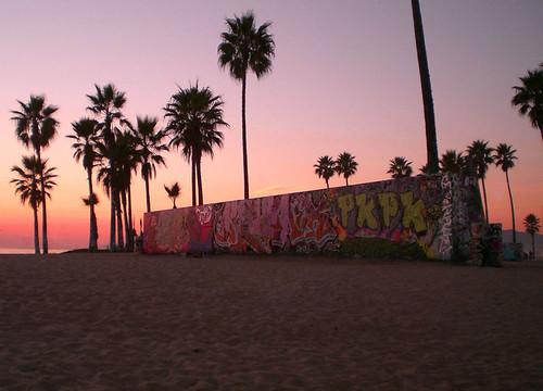 venice beach graffiti the graffiti wall at venice beach