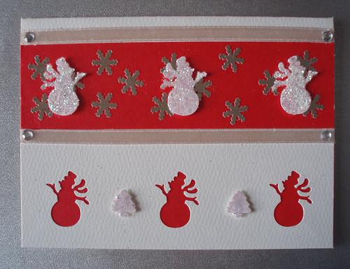 Handmade christmas card handmade christmas card made for Home made xmas cards