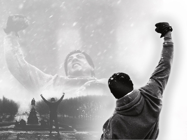 Rocky Balboa wallpaper | A cool, simple wallpaper for all ...
