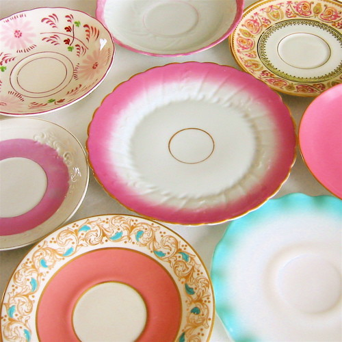 Vintage Saucers | by Picnic by Ellie