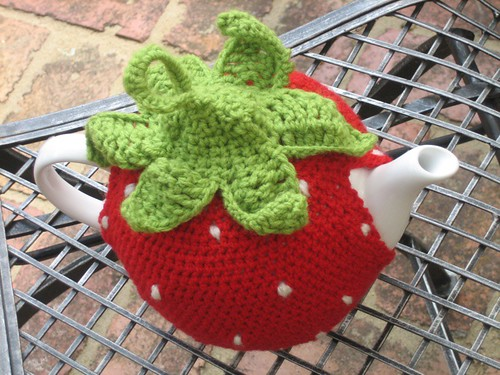 Strawberry Teacosy | by lululollylegs