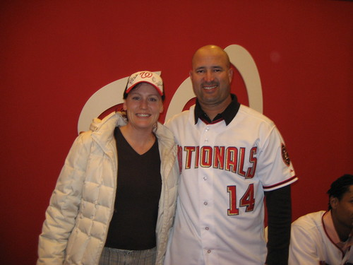 MissChatter and Manny Acta | by MissChatter