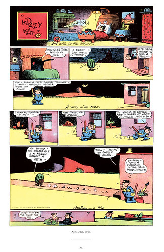 "Krazy & Ignatz 1939-1940: ""A Brick Stuffed with Moom-bims"" by George Herriman - page 81 