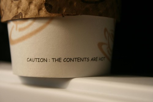 Is that Comic Sans on my coffee cup? [2/19/07] | by contrapositively