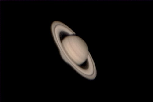 Saturn as seen at the 2006 Winter Star Party | by cosmosjon