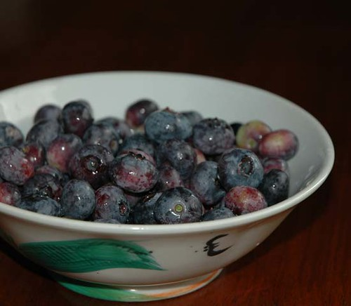 blueberries-in-bowl-1 | by kitchenmage
