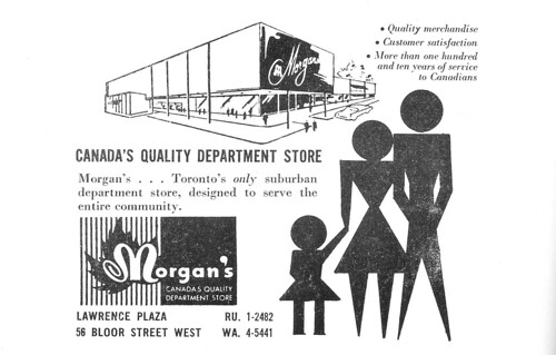 Vintage Ad #195 - Morgan's, Canada's Quality Department Store