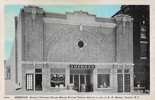 american theatre canton ny ca 1928 since 1921 address flickr. Black Bedroom Furniture Sets. Home Design Ideas