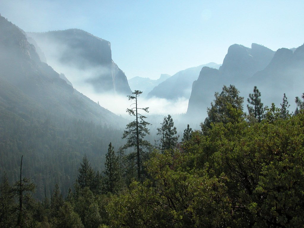 yosemite national park fog - photo #14
