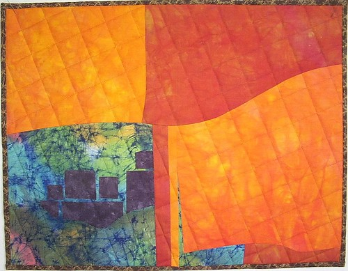 """Christo's Dream,"" by Becky Phillips, 18.5"" x 14.5"" 