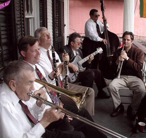 Front Porch Jazz, New Orleans, 2001 | by Ed Newman