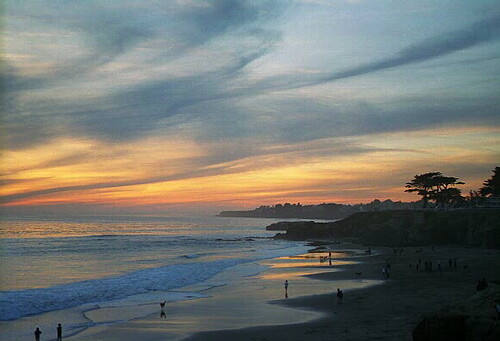 Low Tide and Sunset ov...