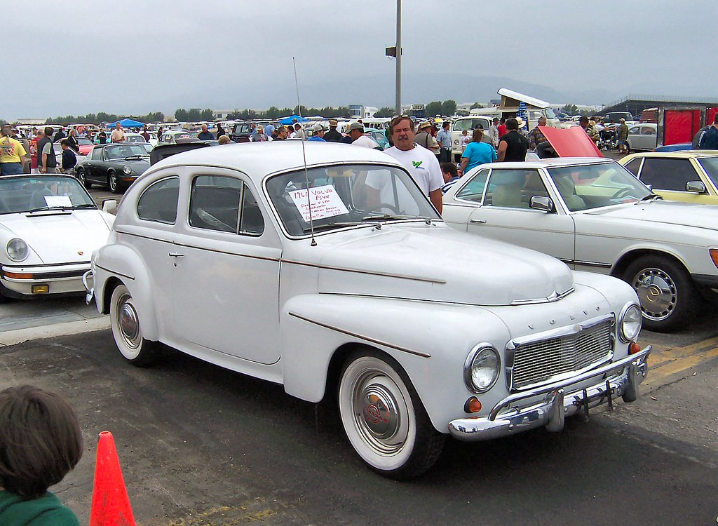 1960 Volvo P544 One Doesn T See Too Many Of These In