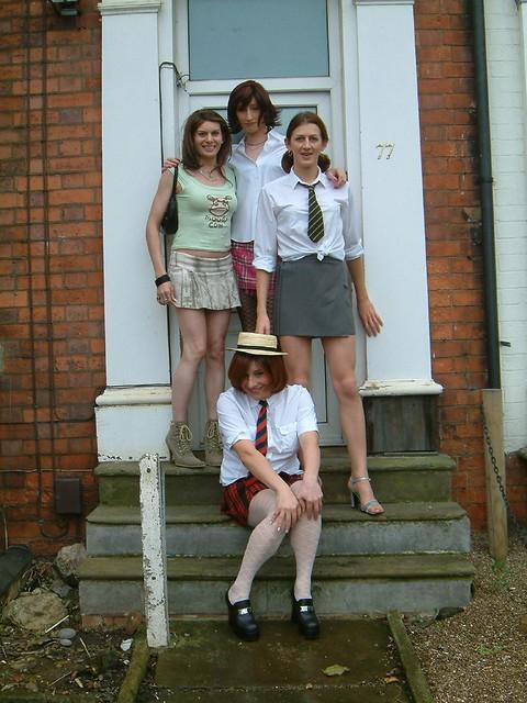 The new world schoolgirls love it too - 2 part 7