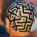 burning-man-2003 - head-maze - Body Paint
