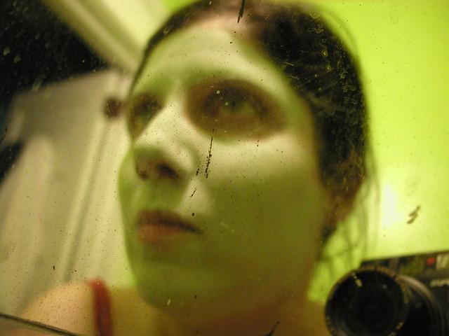 Zombie girl strikes again rawrrr same night for Mirror zombie girl