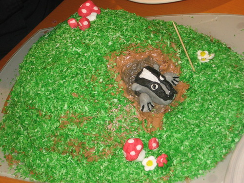 Badger Cake
