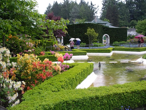 star pond butchart gardens victoria b c from the