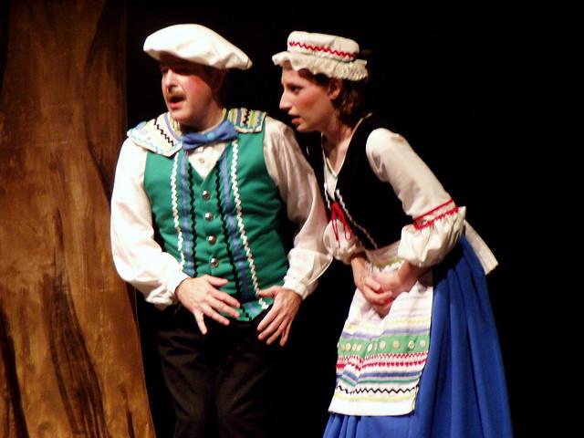 Warren wilson theatre s into the woods spring 2004