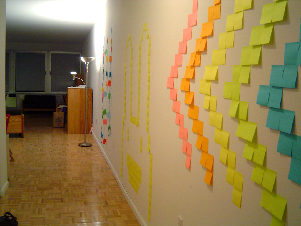 dorm decorations | I had a lot of wall space and was living … | Flickr