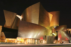 Walt Disney Concert Hall at night | by lightmatter
