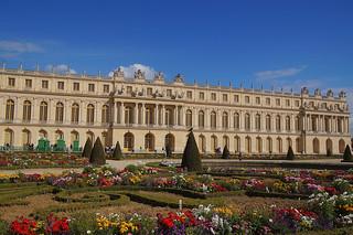084 Kasteel van Versailles tuinen