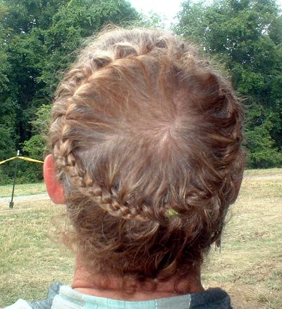French Crown Short Hair Spicybraids Flickr