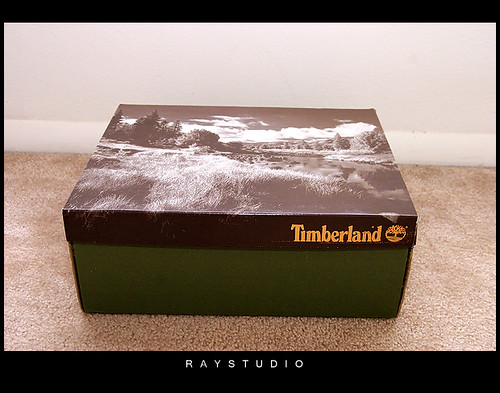 Timberland Boots In Shoe Box