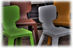 Colorfull Chairs | by gill4kleuren - 14 ml views