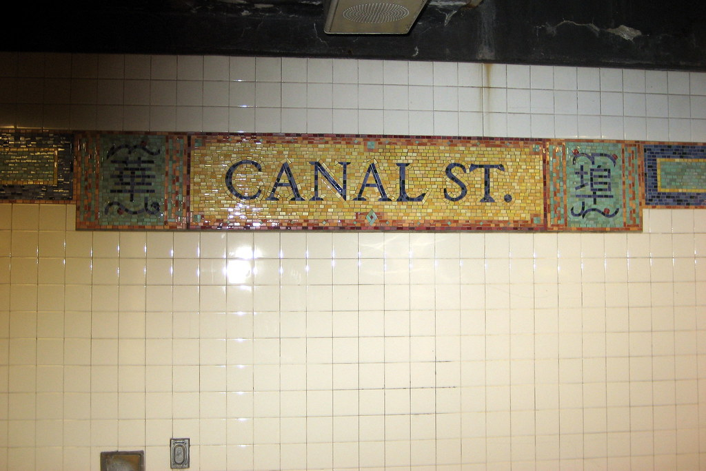 NYC - Chinatown - Canal Street Subway Station | Canal ...