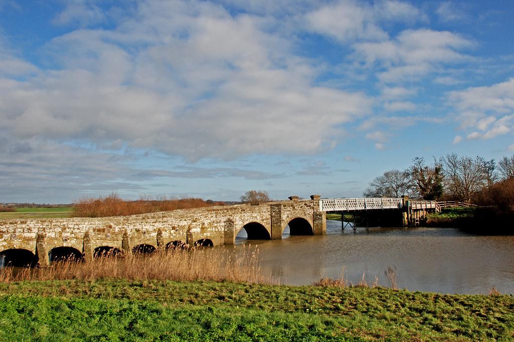 Greatham Bridge, River...