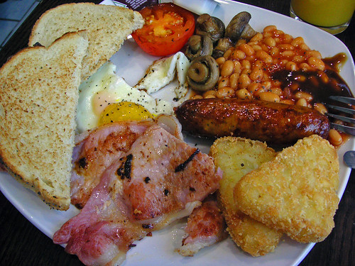 heathrow breakfast | by bobby stokes