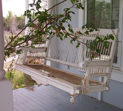 Neat Porch Swing | by 'Playingwithbrushes'
