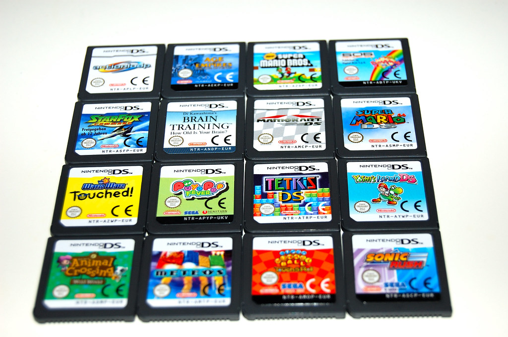 nintendo ds game collection 26 january 2007 this image flickr. Black Bedroom Furniture Sets. Home Design Ideas