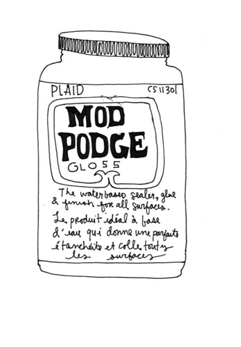012707: Mod Podge | by kate*