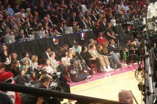 Celebrities at All Star Game in Las Vegas | by The700Level